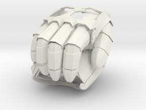 Mechanical Gauntlet Pair in White Natural Versatile Plastic