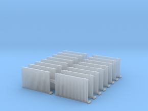 Wall Radiator Heater (x16) 1/76 in Smooth Fine Detail Plastic