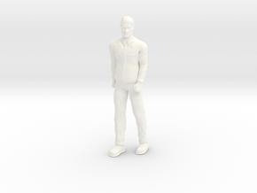 Lost in Space - 1st Season Attire - Dr Smith 1.35 in White Processed Versatile Plastic
