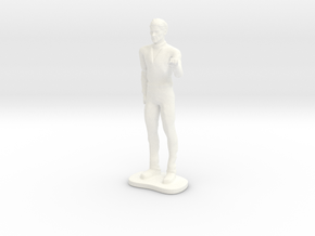 Lost in Space - Dr Smith - SNG Casual - 1.35 in White Processed Versatile Plastic