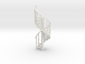S-55-spiral-stairs-market-1a in White Natural Versatile Plastic