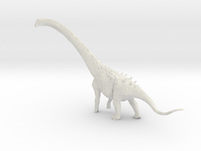 1:35 Magyarosaurus in White Natural Versatile Plastic