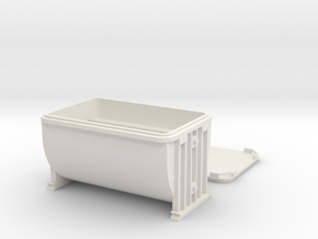 Anvil ore container On3 in White Natural Versatile Plastic