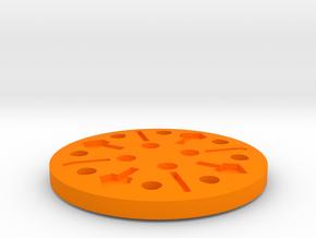 M.a.s.k. - Wildcat - Disc in Orange Processed Versatile Plastic