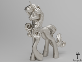 Rarity MLP (Au, Ag, Pt, Bronze, Brass) in Fine Detail Polished Silver