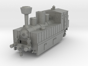 Locomotive 178 armored 1:144 in Gray PA12