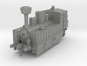 Locomotive 178 armored 1:160 in Gray PA12