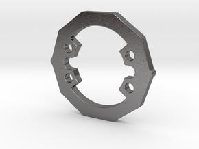 Ten heavy weight disk heavier version in Polished Nickel Steel