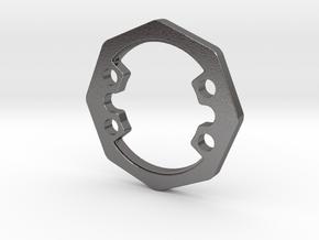 Eight heavy weight disk heavier version in Polished Nickel Steel