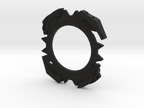 Bey Zeus Attack Ring sub in Black Natural Versatile Plastic