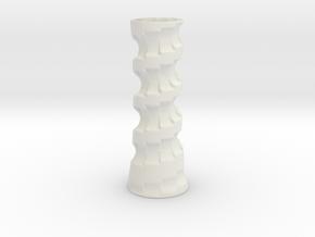 Stairvase in White Natural Versatile Plastic