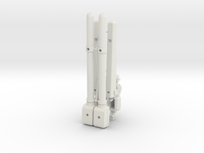 Cheyenne II forearms in White Natural Versatile Plastic