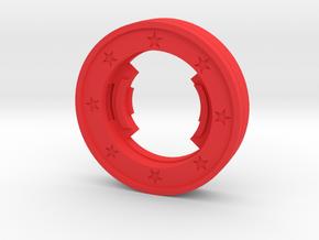 Beyblade Wonder Woman | Custom Attack Ring in Red Processed Versatile Plastic