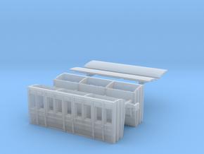 Listowel Lartigue Coach V2 (N Scale) in Smooth Fine Detail Plastic