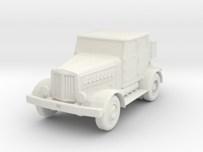 Hanomag SS100 LN 1/72 in White Natural Versatile Plastic