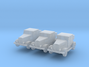 Hanomag SS100 LN (x3) 1/285 in Smooth Fine Detail Plastic