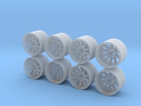 SP3 815-55 1/64 Scale Wheels in Smooth Fine Detail Plastic