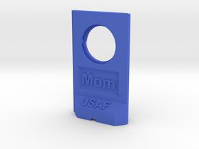 MomTwall-USAF_1.0.0 v1 in Blue Processed Versatile Plastic