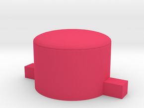 Replacement AB button for DMG/Zero/GPi (single) in Pink Processed Versatile Plastic