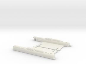 M.a.s.k. - Thunderhawk - Door Wing Laser both side in White Natural Versatile Plastic
