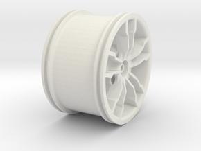 Mx3v2 Rim in White Natural Versatile Plastic