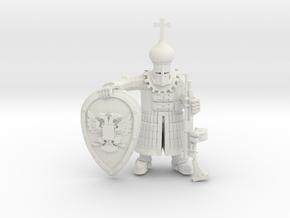 Tekno- Streltsy Arquebusier in White Natural Versatile Plastic