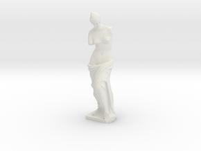 Venus de Milo (1:220) in White Natural Versatile Plastic