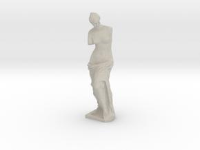 Venus de Milo (1:87) in Natural Sandstone