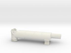 Elco Muffler Port 24th v1 in White Natural Versatile Plastic