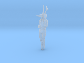 Hanging Body miniature model fantasy games rpg dnd in Smooth Fine Detail Plastic