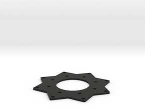 Multirotor Flight Controler Universal Mount in Black Strong & Flexible