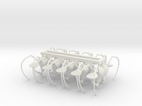 preant head 02 ant x 10 in White Premium Versatile Plastic