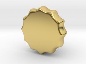 1/6 USN Telegraph Knob in Polished Brass