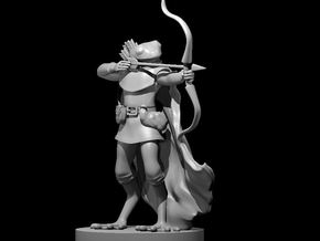 Frogfolk Ranger in Smooth Fine Detail Plastic