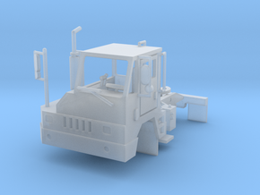 Yard Tractor 1-64 Scale in Smooth Fine Detail Plastic: 1:64