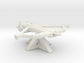 great crossbow medieval 28mm medieval  in White Natural Versatile Plastic