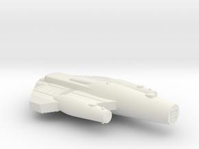 3788 Scale ISC War Cruiser (CW) SRZ in White Natural Versatile Plastic