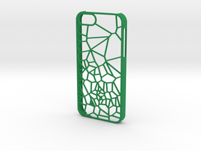 Transition iPhone 5/5s case in Green Strong & Flexible Polished