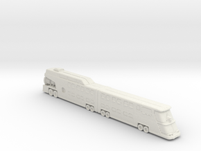 Cyclops (The Big Bus) 1:160 Scale in White Natural Versatile Plastic