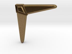 Boomerang in Natural Bronze