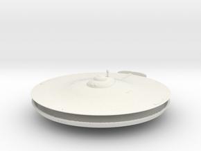 1000 TOS Saucer type 4 in White Natural Versatile Plastic