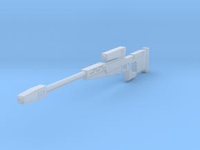 Gar Saxons sniper rifle  (The Clone Wars) in Smooth Fine Detail Plastic