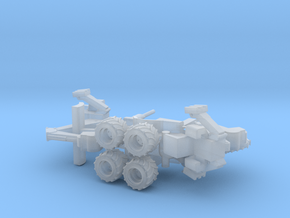 N Scale trenching machine in Smooth Fine Detail Plastic