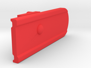 Signal Semaphore Blade (Calling On) 1:19 scale in Red Processed Versatile Plastic