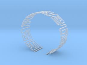 Maze Bracelet Size M in Smooth Fine Detail Plastic
