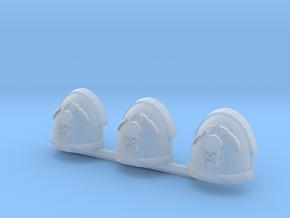 Skull and Scythe Gravus pads x3 R #1 in Smooth Fine Detail Plastic