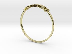 Astrology Ring Taureau US6/EU51 in 18K Yellow Gold