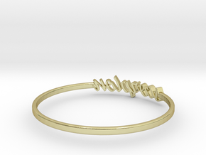 Astrology Ring Scorpion US10/EU61 in 18K Yellow Gold