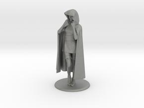 Sheila the Thief Miniature in Gray PA12: 1:36
