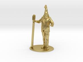 Vermin Supreme Miniature in Natural Brass: 1:60.96